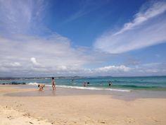 Rainbow Bay Beach in Coolangatta, QLD