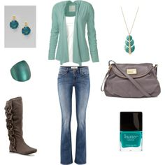 love the turquoise.