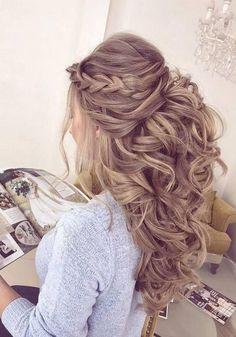 Elstilespb Long Wedding Hairstyles / www.deerpearlflow… Elstilespb Long Wedding Hairstyles / www.deerpearlflow… Elstilespb Long Wedding Hairstyles / www.deerpearlflow… Elstilespb Long Wedding Hairstyles / www. Wedding Hairstyles For Long Hair, Wedding Hair And Makeup, Easy Hairstyles, Beautiful Hairstyles, Hairstyle Wedding, Elegant Wedding Hairstyles, Big Wedding Hair, Evening Hairstyles, Bridal Makeup
