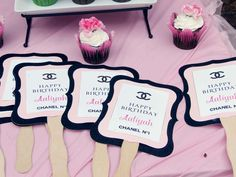 Coco Chanel Birthday Party Ideas | Photo 3 of 18 | Catch My Party