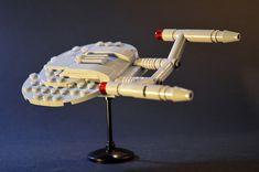 Home - Star Trek #startrek #gostartrek #startrekfan #startrekkers #startrekmovie Lego Disney, Star Trek Enterprise Ship, Starship Enterprise, Lego Poster, Vulcan Star Trek, Lego Spaceship, Spaceship Concept, Lego Star Trek, Star Trek Memorabilia