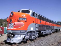 Western Pacific 805 A