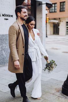 Perfect Wedding, Blazer, Iphone, Coat, Jackets, Fashion, Sequins, Pants, Ruffle Dress