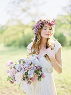 Spring photoshoot: http://www.stylemepretty.com/2015/12/03/pantone-2016-rose-quartz-serenity-wedding-inspiration/ Photography: Ryan Ray - http://www.ryanrayphoto.com/