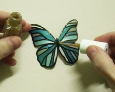 How To Create Your Own Plastic Butterfly Craft