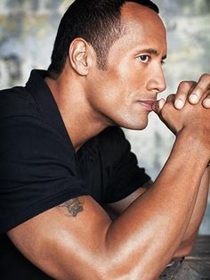 Dwayne Johnson is one of the sexiest