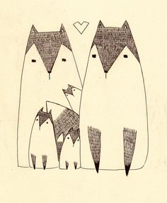 HITRECORD - .foxes in love.