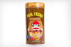 Pancake Mix with paul frank, how cool