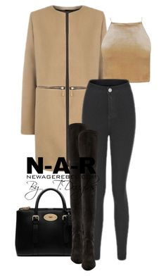 """""""Untitled #576"""" by newagerebel ❤ liked on Polyvore featuring Mulberry and Stuart Weitzman"""