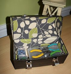 Would make a great sewing box too!