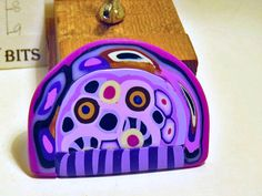 Brooch. Arched Cartoon Brooch. by QuerkyBitsbyKerry on Etsy