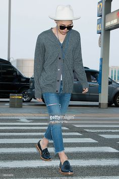 <a gi-track='captionPersonalityLinkClicked' href=/galleries/search?phrase=G-Dragon&family=editorial&specificpeople=7406528 ng-click='$event.stopPropagation()'>G-Dragon</a> of South Korean boy band Bigbang is seen on departure at Incheon International Airport on May 24, 2013 in Incheon, South Korea.