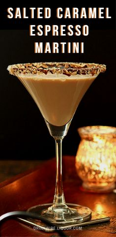 Baileys dessert liqueur brings a decadent element to this sweet take on a martini. Mixed in with rum and fresh espresso, this is a great cocktail to both start and end your day with. (mixed drinks with rum summer) Cocktail Desserts, Coffee Cocktails, Cocktail Recipes, Baileys Cocktails, Martinis, Baileys Espresso Martini Recipe, Coffee Martini Recipe, Salted Caramel Martini, Martini Bar