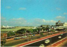 Década de 60 - Aeroporto de Congonhas.