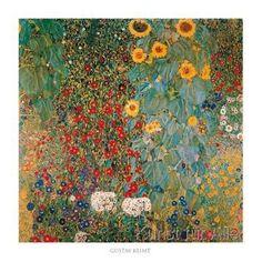 Gustav Klimt - Il giardino di compagna