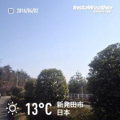 おはようございます! 気温はけっこう上がりそうです〜♪