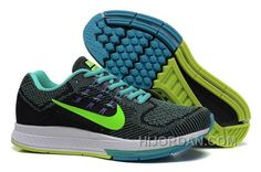 new concept afe29 0afe8 Germany Nike Air Zoom Structure18 Mens Running Shoes Black  Month-borland-fluorescent Green GQYEy, Price   94.00 - Air Jordan Shoes,  Michael Jordan Shoes