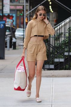 """""""July 5th, 2016: Gigi out in New York. """""""