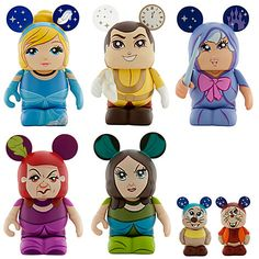 Vinylmation Cinderella Set - 7 pc | Vinyl Figures | Disney Store  I want it !
