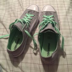e87f5a5d9 Shoes Turquoise and grey worn once Converse Shoes Sneakers Zapatos Converse