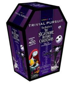 Trivial Pursuit: Tim Burton's the Nightmare Before Christmas Travel Edition