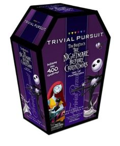 Trivial Pursuit: Tim Burton's the Nightmare Before Christmas Travel Edition