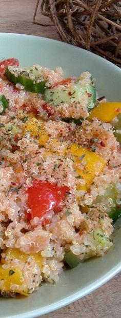 Quinoa-Salat -