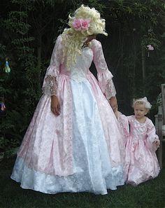 Lower-Cost Brocade Cinderella or Marie Antoinette Gown