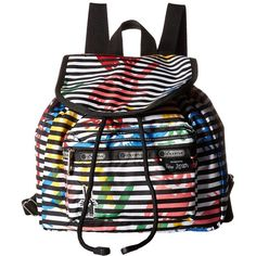LeSportsac Small Edie Backpack (Jeffrey) Backpack Bags ($88) ❤ liked on Polyvore featuring bags, backpacks, lesportsac bags, rucksack bag, drawstring bag, polyester backpack and strap backpack