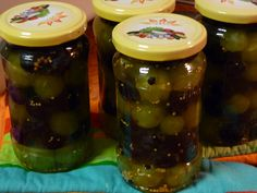 Struguri murati Conservation, Preserves, Pickles, Cucumber, Pantry, Mason Jars, Canning, Food, Drinks