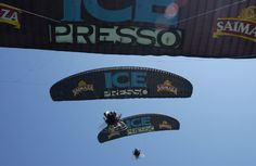 Ice Presso Saimaza sampling de producto #Icepresso #firstgroup #sampling #azafatas #paracaidista #kitesurf #carritos