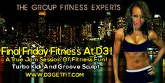 Final Friday Fitness at D3 starts on March 28th!! Go to www.d3gtfit.com for more info. Chicago, South Loop