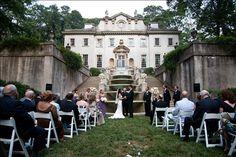 Swan House Gardens - Atlanta, GA  #Wedding