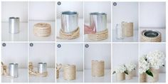 Do you have pots? Used or unused, old or new? If yes then these 15 DIY Garden Pots Decoration Ideas are made for you. These ideas will sway your mind in wonder. Paper Pot, Liquid Chalk Markers, Painted Clay Pots, Recycle Cans, Mosaic Pots, White Spray Paint, Shabby Chic Baby Shower, Vase Fillers, Terracotta Pots