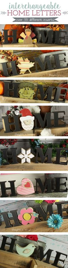 Thoughts in Vinyl - Unfinished Craft Kits and Vinyl Lettering for Your Home or Business #woodcraftsforkids