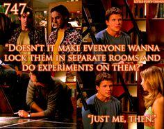Riley from Buffy the Vampire Slayer.