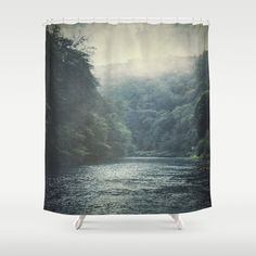 """valley and river by Dirk Wuestenhagen Imagery Shower Curtain / 71"""" by 74"""" $68.00"""