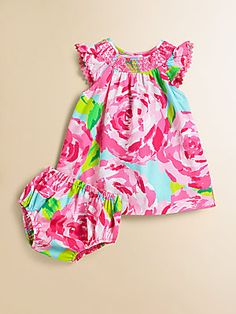Lilly Pulitzer Kids Infant's Bluey Dress & Bloomer Set.....too cute