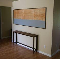 Entry table console table sofa table hallway by CastandGrain 00000325 Etsy