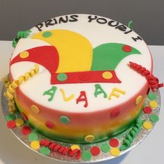 Carnavals taart