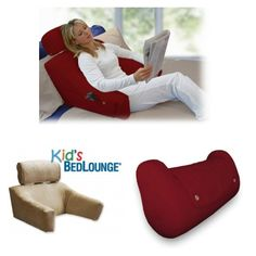 Invented by Dr. Robert Swezey M.D., leading specialist in non-surgical neck & back pain treatment, the BedLounge makes lounging and sleeping sitting up effortless and enjoyable. #sponsored