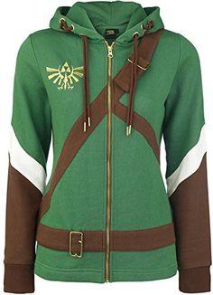 Official Womens Legend of Zelda Cosplay Link Costume Styl...