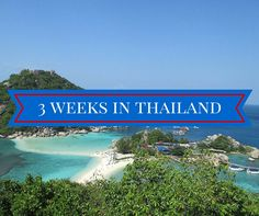 Chiang Mai, Bangkok, and the beautiful Thai islands. This 3 week thailand itinerary will show you the highlights of this incredible country.