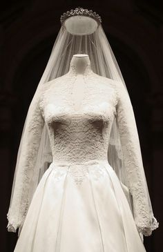 The Royal Order of Sartorial Splendor: The Duke & Duchess of Cambridge's Wedding: The Bridal Gown
