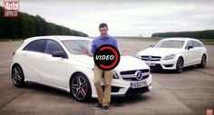 Cool Mercedes: Mercedes-AMG A45 Vs CLS63 Drag Race Is Sibling Rivalry At Its Best...  Cars Check more at http://24car.top/2017/2017/08/07/mercedes-mercedes-amg-a45-vs-cls63-drag-race-is-sibling-rivalry-at-its-best-cars/