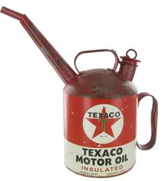 Vintage Texaco Motor Oil Sign