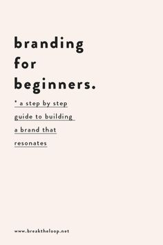 Branding Your Business, Small Business Marketing, Business Design, Creative Business, Business Tips, Online Business, Business Motivation, Building A Personal Brand, Brand Building