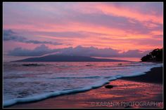 Voggy Sunset | Hawaii Pictures of the Day