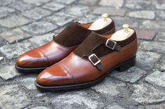 Louis Charles Balmoral Double Monk by Septieme Largeur  http://www.theshoesnobblog.com/