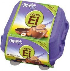 Milka Hazelnut Creme & Chocolate Eggs 4-pack - Safka Continental Goodies Auckland New Zealand